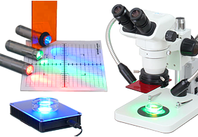 LED for fluorescence excitation